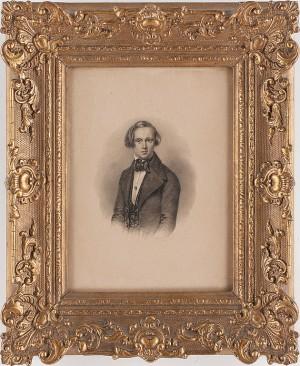 (2) Porträtt Av Ung Kvinna Och Man by Maria Christina RÖHL