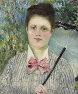 Femme à L'ombrelle by Pierre Auguste RENOIR