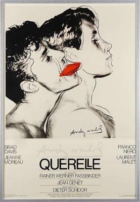 Querelle, Filmaffisch by Andy WARHOL