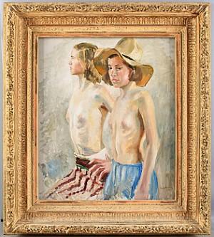 Två Kvinnor by Gustaf CARLSTRÖM