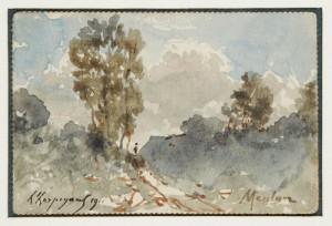 Forêt De Meulan by Henri Joseph HARPIGNIES