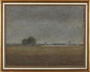 Landskap Med Gård by Frans TIMÉN
