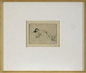 Liggande Modell by Carl LARSSON