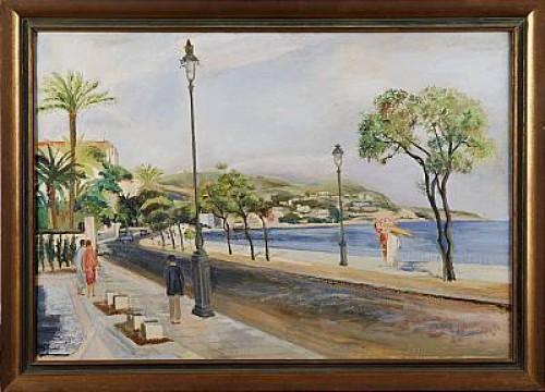Promenad Des Anglais by Siri RATHSMAN