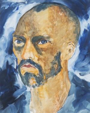 Porträtt Av Vincent Van Gogh by Claes EKLUNDH