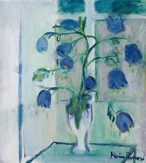 Blå Blommor by Karin PARROW