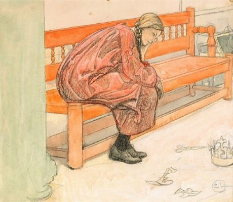 Teaterfunderingar by Carl LARSSON