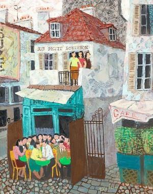 Au Petit Robinson by Pelle ÅBERG