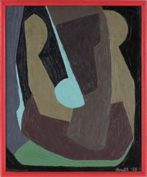 Målning V by Gerd NORDENSKJÖLD
