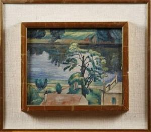 Carrière-sur-seine by Frans TIMÉN