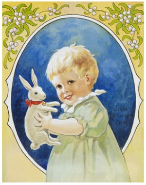 Barn Med Kanin by Jenny NYSTRÖM