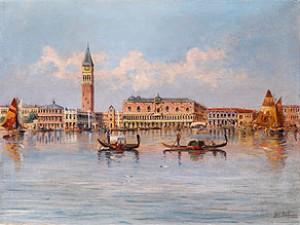Ansicht Von Venedig by Karl KAUFMANN