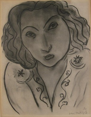 Portrait Of A Woman by Henri MATISSE