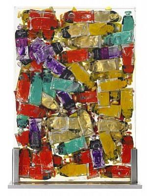 Ackumulation Med Färgtuber by Fernandez ARMAN