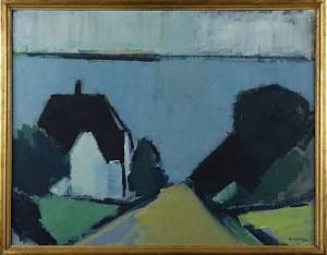 Kyrkbacken På Ven by Gustav RUDBERG