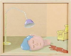 Lampa Och Fåtölj by Dan PERRIN