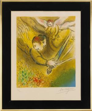 L'ange Du Jugement by Marc CHAGALL