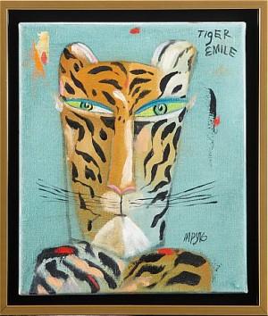 Tiger Emile by Madelaine 'M Pyk' PYK