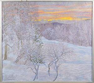 Norrländskt Landskap by Ivan BERGDAHL