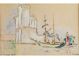 La Rochelle by Paul SIGNAC