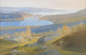 Sommarkväll, Värmland by Olof Walfrid NILSSON
