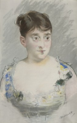 Portrait De Madame Du Paty by Edouard MANET