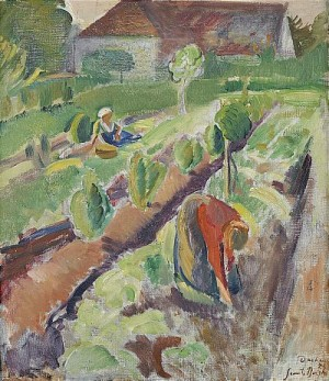 Trädgårdsarbete by Svante BERGH
