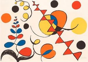 Untitled, From: La Mémoire élémentaire by Alexander CALDER