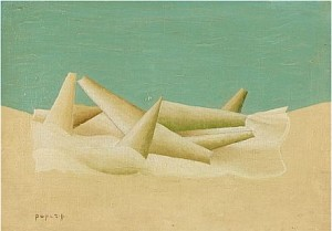 Surrealistisk Komposition by Georges PAPAZOFF