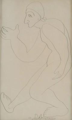 Figurstudie by Ernst JOSEPHSON