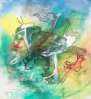 Folle-royer by Roberto MATTA