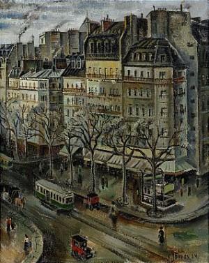 Parismotiv by Erik JÖNSSON