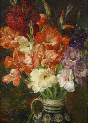 Stilleben Med Gladiolus by Anna MUNTHE NORSTEDT
