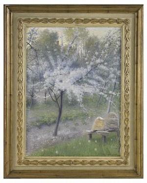 Blommande Körsbärsträd by Robert THEGERSTRÖM