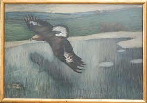 Havsörn by Ernst NORLIND