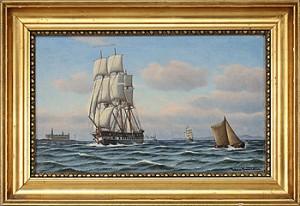 Fregatten Jylland by Johan Jens NEUMANN