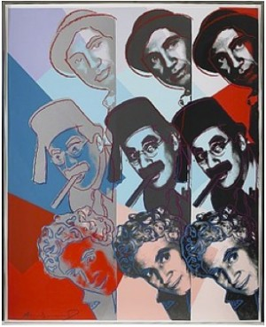 The Marx Brothers by Andy WARHOL