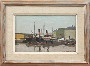 Båtar I Hamn by Björn HALLSTRÖM
