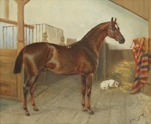 Porträtt Af Gallus by John ARSENIUS