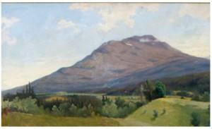 Bergslandskap by Axel Wilhelm NORDGREN