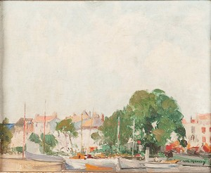 La Rochelle by William Lee HANKEY