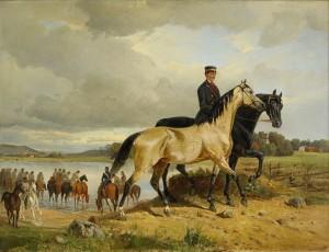 Hästarna Vattnas by John ARSENIUS
