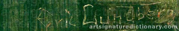 Signature by Eric LUNDBERG