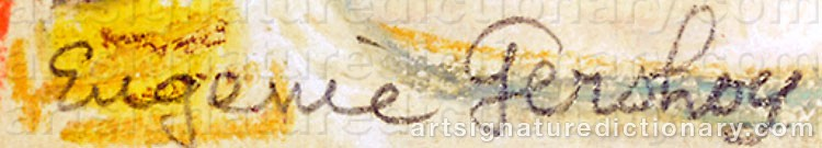 Signature by Eugenie GERSHOY
