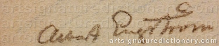 Signature by Albert ENGSTRÖM