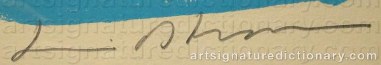 Signature by Bengt LINDSTRÖM