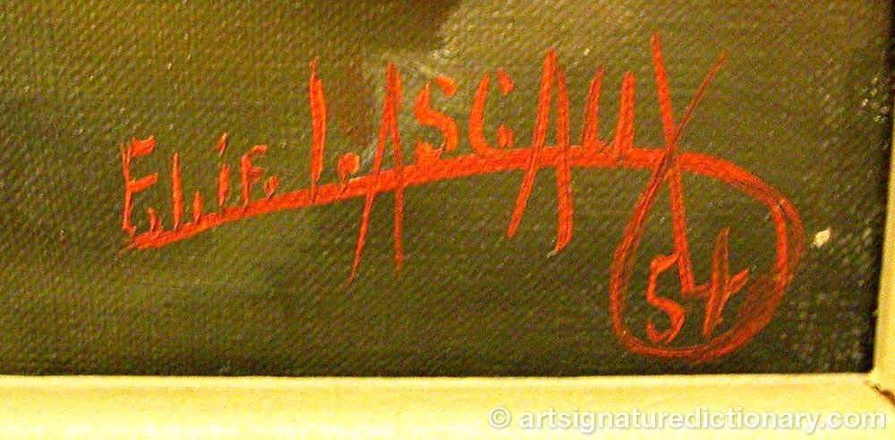 Signature by Elie LASCAUX