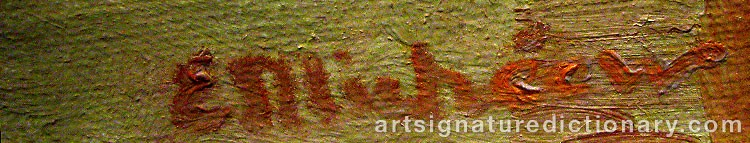 Signature by Elena MICHÉEW