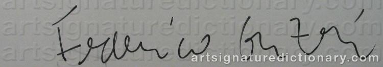 Signature by Federico GUZMAN