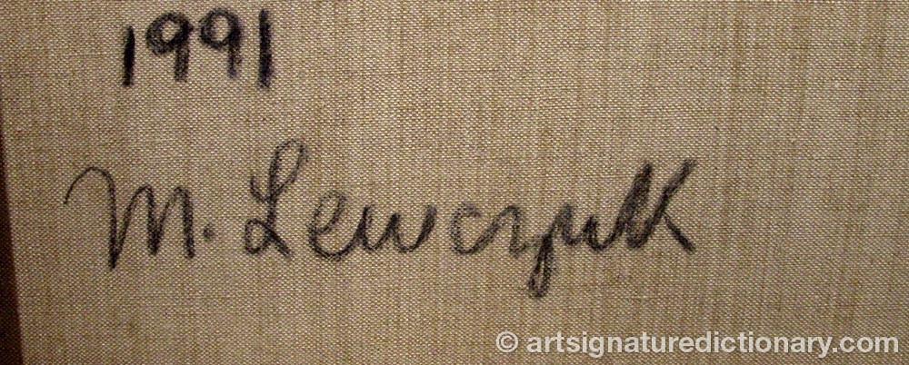 Signature by Margrit LEWCZUK